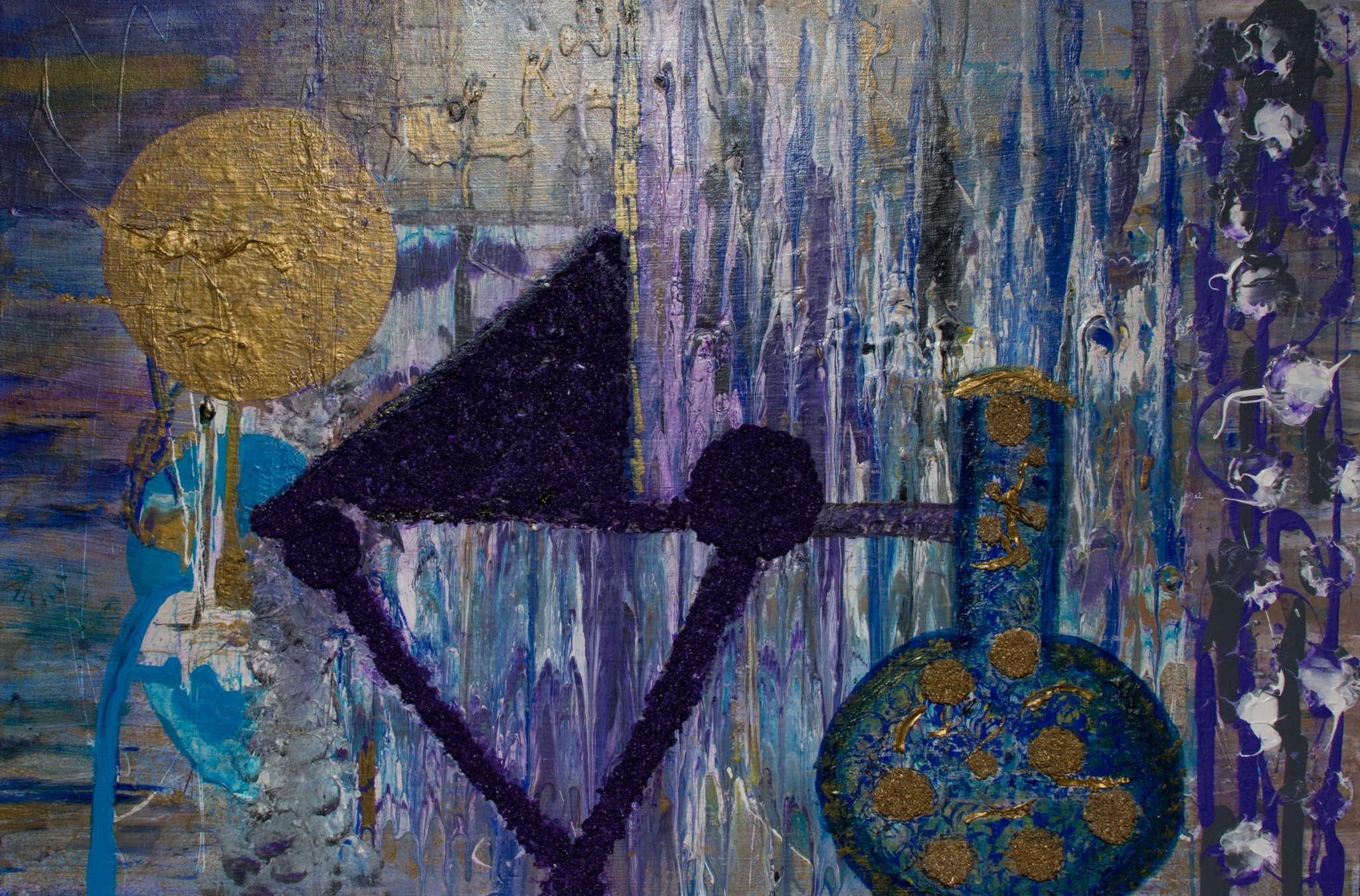 THE ALCHEMIST 36X24 MIX MEDIA